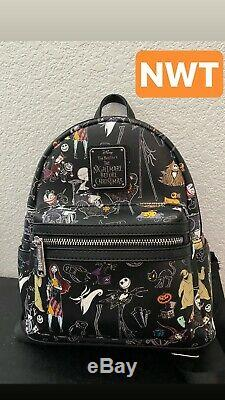 Rare disney loungefly mini backpack nightmare before Christmas