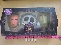 SUPER RARE Nightmare Before Christmas Set of 3 Masks Lock Shock and Barrel