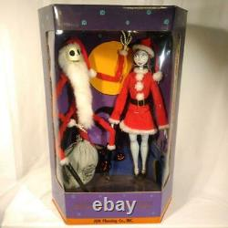 Santa Jack & Santa Sally Nightmare Before Christmas Collection Doll Limited Ed