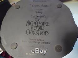 The Nightmare Before Christmas Clown House Hawthorne Village Black Light Disney