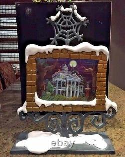 The Nightmare Before Christmas Haunted Mansion Holiday Portrait Frame