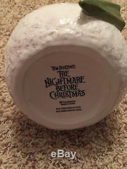 The Nightmare Before Christmas Jack Skellington Snowman Disney Cookie Jar