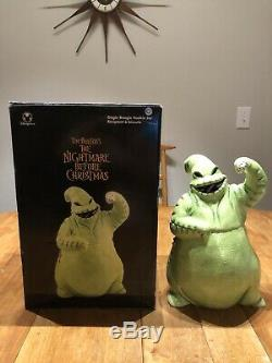 The Nightmare Before Christmas OOGIE BOOGIE CERAMIC COOKIE JAR Disney Store Rare