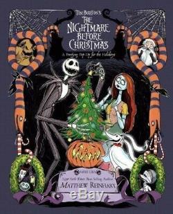 The Nightmare Before Christmas Pop Up Book Holidays NEW by Matthew Reinhart