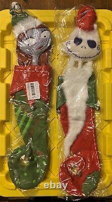 The Nightmare Before Christmas Stockings Jack And Sally, Very RARE