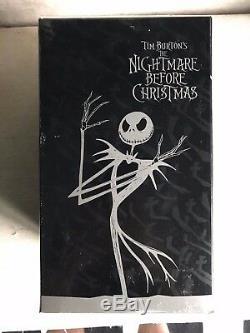 Tim Burton Nightmare Before Christmas Halloween Town Lighted Figurine Jack Skel