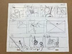 Tim Burton The Nightmare Before Christmas Deane Taylor Storyboard Original Art