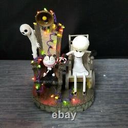Tim Burton's Nightmare Before Christmas Testing the Chair Light's Up Ltd 1400