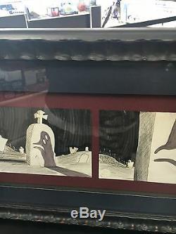 Tim Burton's The Nightmare Before Christmas Conceptual Storyboard Disney