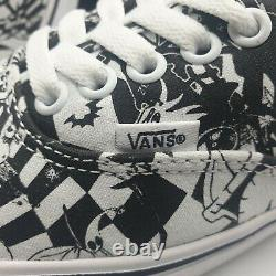VANS Disney Nightmare Before Christmas Trainers Unisex Discontinued Size 7 Rare