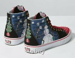 Vans SK8 Hi Disney The Nightmare Before Christmas Town Men's Size 10.5 (UK 9.5)
