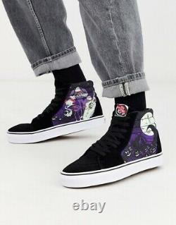 Vans X Nightmare before christmas DISNEY Collection Mens 4.5 Womens 6