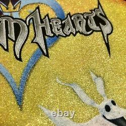 Vintage Disney Kingdom Hearts Nightmare Before Christmas Video Game 2002 T Shirt