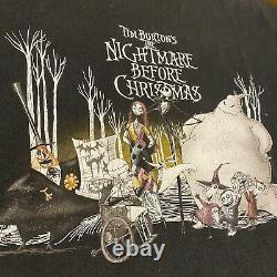 Vintage Disney Nightmare Before Christmas Movie Shirt XL