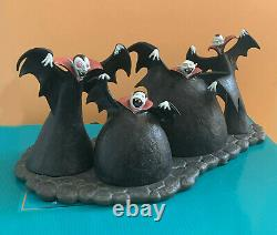 WDCC Disney Fiendish Fans Vampires Nightmare Before Christmas Figurine 2009