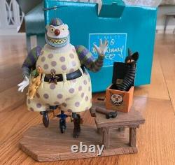 WDCC Disney Nightmare Before Christmas A Frightful Sight Clown withTear. (NEW)