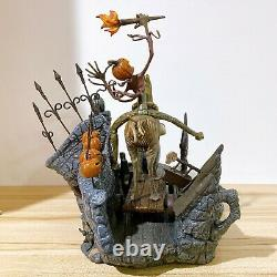 WDCC Nightmare Before Christmas All Hail the Pumpkin King! Jack and Behemoth