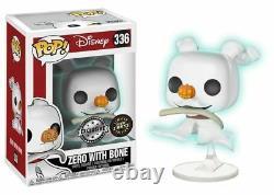 Zero Bone GITD Chase Nightmare Before Christmas POP! Disney #336 Figur Funko