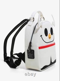 Zero The Nightmare Before Christmas Light-Up Nose Mini Loungefly Disney Backpack